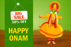 Happy Onam Big Sale Royalty Free Stock Photo