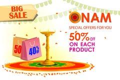 Happy Onam Big Sale Royalty Free Stock Image