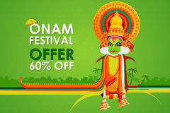 Happy Onam Big Sale Royalty Free Stock Images