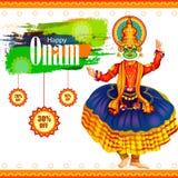 Happy Onam Big Shopping Sale Advertisement background Stock Images