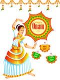 Happy Onam Big Shopping Sale Advertisement background Stock Photography