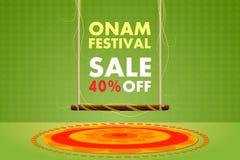 Happy Onam festival sale Royalty Free Stock Photo