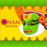 Happy Onam Festival Royalty Free Stock Image
