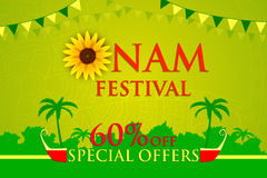 Happy Onam Offer Stock Photo