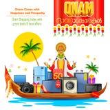 Happy Onam sale offer Stock Photo