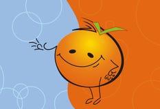 Free Happy Orange Man Royalty Free Stock Photos - 6443758