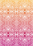 Happy orange-pink seamless pattern Royalty Free Stock Photography