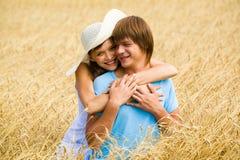 Happy pair Stock Image