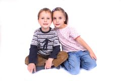 Happy pair Royalty Free Stock Photography