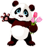 Happy Panda Royalty Free Stock Photo