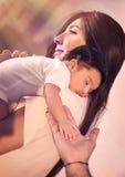 Happy parenthood concept Royalty Free Stock Photos