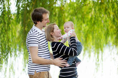 Happy parenthood Stock Photography