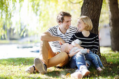 Happy parenthood Royalty Free Stock Photos