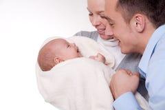 Happy parents Stock Images