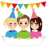 Happy Party Kids Stock Photography