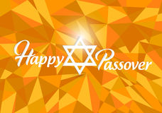 Happy passover card design Royalty Free Stock Photos
