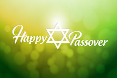Happy passover sign card illustration design Royalty Free Stock Photos