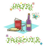 Happy Passover Sign Royalty Free Stock Photo