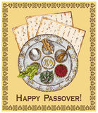 Happy passover Royalty Free Stock Photography
