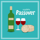 Happy Passover vector illustration