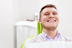 Happy patient Stock Photography
