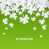 Happy Patrick Day Festival Beer Holiday Poster Fest. Flat Vector Illustration Royalty Free Stock Image