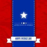 Happy Patriot Day Royalty Free Stock Photos