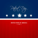 Happy Patriot Day Royalty Free Stock Images