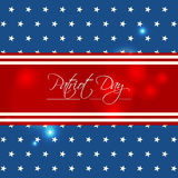 Happy Patriot Day Stock Images