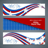 Happy Patriot Day. Creative web banners for Happy Patriot Day with nice illustration in a background vector illustration
