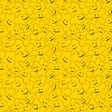 Happy Pattern Texture Stock Images