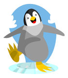 Happy Penguin Royalty Free Stock Photos