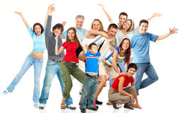 Happy people. Royalty Free Stock Photography