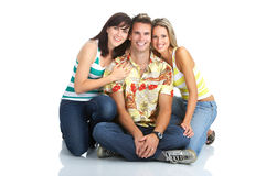 Happy people Royalty Free Stock Photos