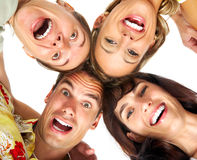 Happy people Royalty Free Stock Images