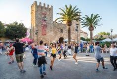 Traditional Mallorcan dance at the annual Fira de Alcudia