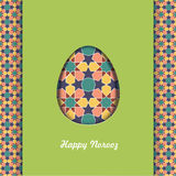 Happy Persian New Year card template. Illustration with fish and Stock Images