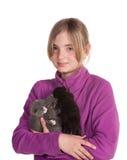 Happy pet owner Stock Photos