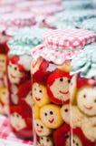 Happy pickles Stock Photo