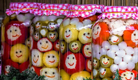 Happy pickles from Romania 2 Royalty Free Stock Image