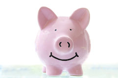 Happy piggy Royalty Free Stock Photography