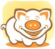 Happy piggy Stock Photography