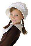 Happy Pilgrim Hello Stock Images