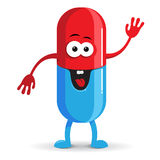 Happy Pill Royalty Free Stock Photos