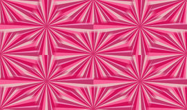 Happy pink  sunburst illustration Royalty Free Stock Image