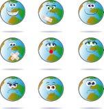 Happy planet Stock Image