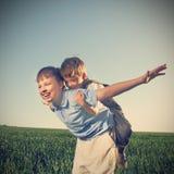 happy play Stock Image