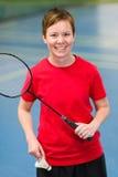 Happy player Stock Photo