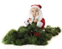 Happy Playing Santa Royalty Free Stock Images