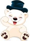 Happy Polar Bear Royalty Free Stock Images